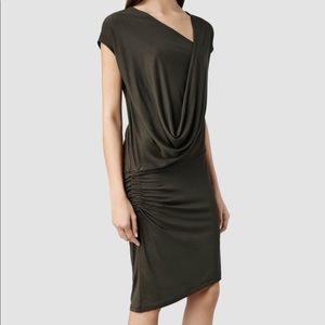 All Saints • Isa Ci Asymmetrical Dress
